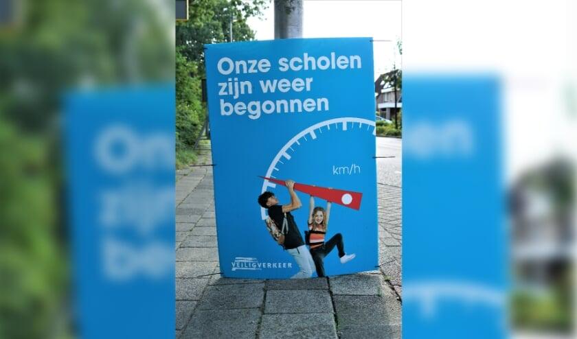 <p>Ook in Oegstgeest zijn op verschillende plekken campagneposters geplaatst.&nbsp;</p>