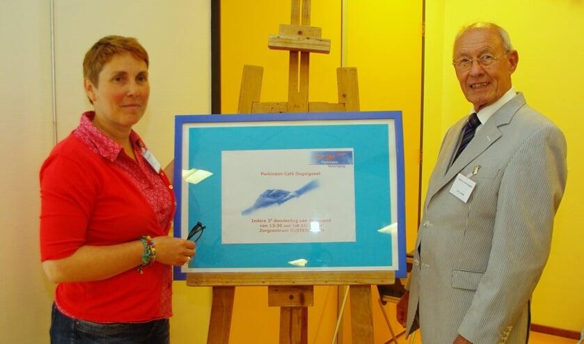 <p>De beide oprichters in 2011: Jolanda van Gorkum en Joop de Neef (overleden in 2018).   Archieffoto</p>