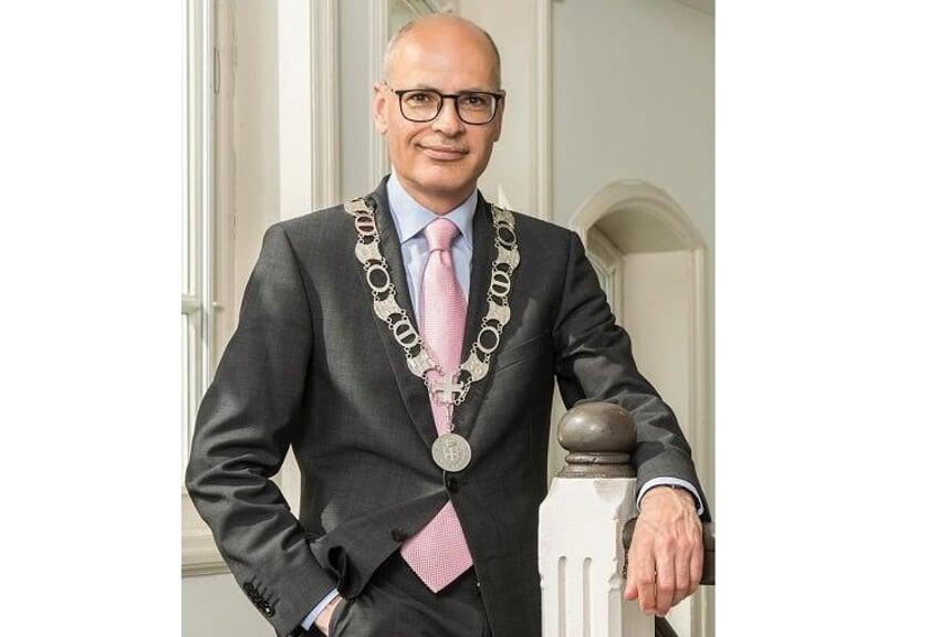 <p>Burgemeester Emile Jaensch. |</p>