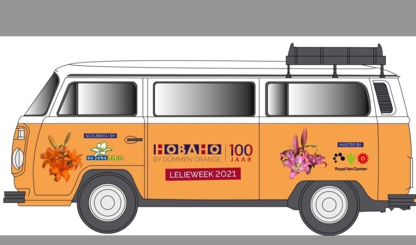 <p>Met een promobus gaat Hobaho het land door.</p>