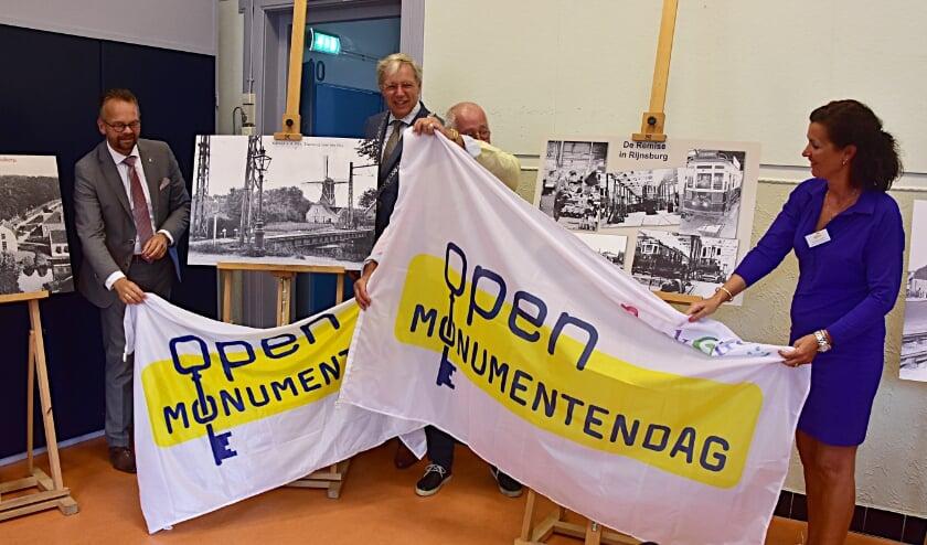<p>De aftrap van Open Monumentendag vond plaats in De Fransche School.   Foto: Piet van Kampen</p>
