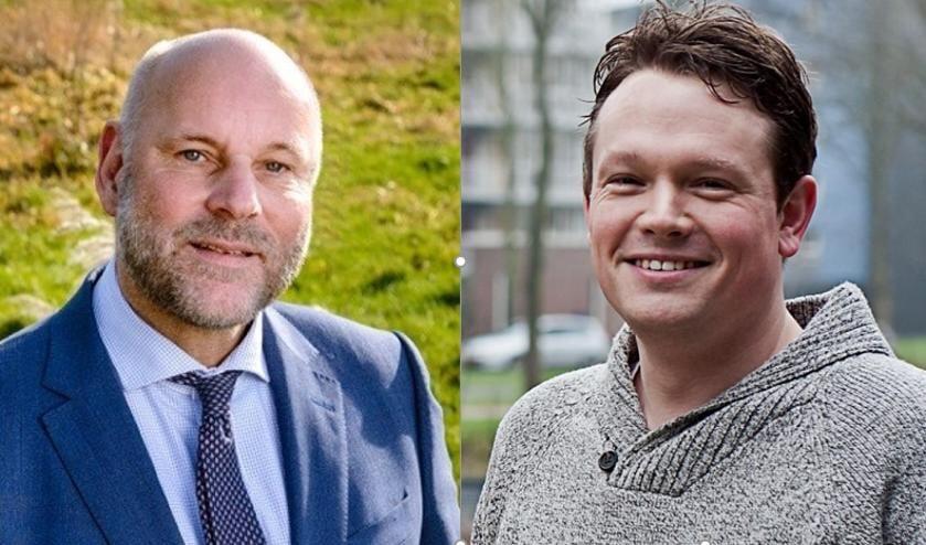 <p>Fractievoorzitters Olaf McDaniel (PvdA, foto links) en Bob Vastenhoud (GroenLinks) zijn verheugd over de samenwerking. </p>