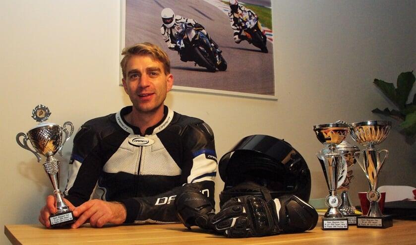 <p>Steven van Haren: &#39;We zijn nog op zoek naar een extra coureur binnen ons team&#39;.   Foto Willemien Timmers</p>