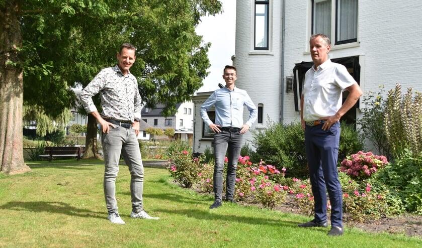<p>Martin Noort, Martin van der Vijver en Cees van der Meij zijn enthousiast over herbergthuis.nl&nbsp;</p>