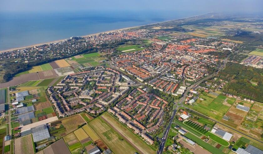 <p>Noordwijk vanuit de lucht.</p>