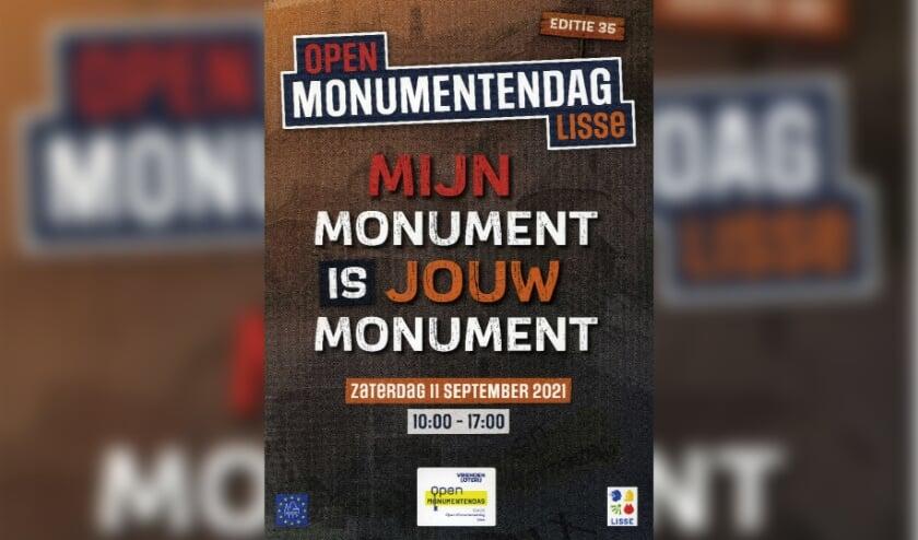 <p>De folder van de Open Monumentendag op 11 september is verkrijgbaar bij de VVV.&nbsp;</p>