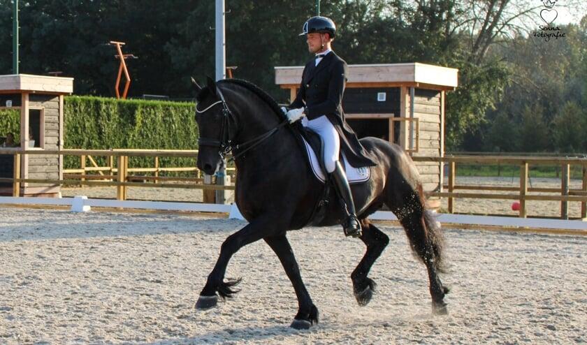 """Subtop   Mark van Leeuwen: """"Olmo is mijn eerste Lichte Tour-paard"""""""
