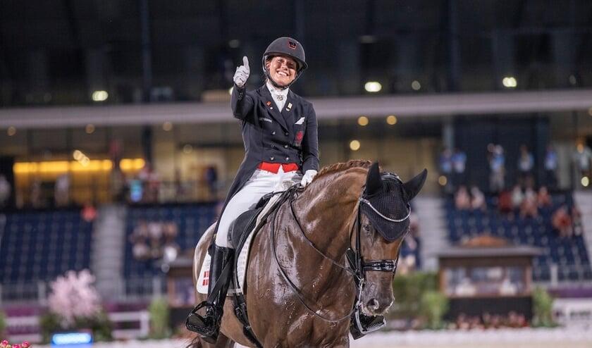 Cathrine Dufour: 'Dit is een van de beste paarden van de wereld'