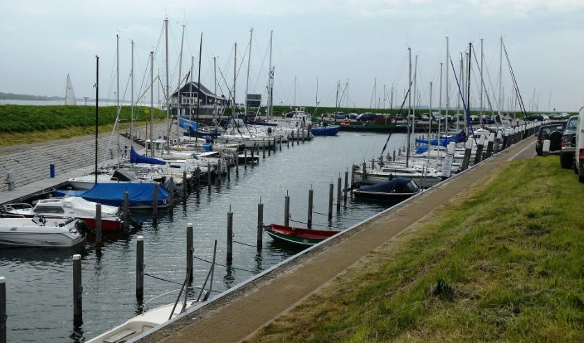 Foto van een jachthaven