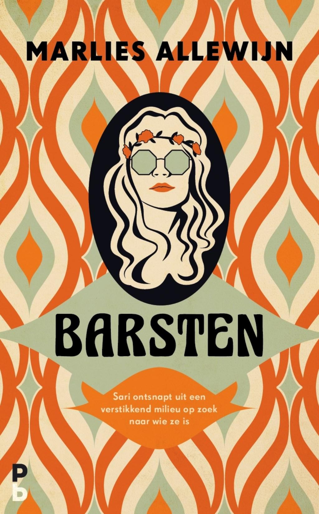 Cover van het boek 'Barsten'   © Rondom Goeree Schouwen-Duiveland