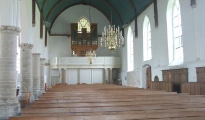 De 'concertzaal' in Dreischor