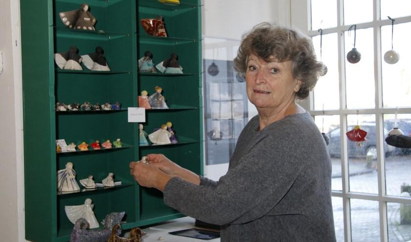 Marijke Lamboo heeft altijd met veel plezier haar winkel gerund.