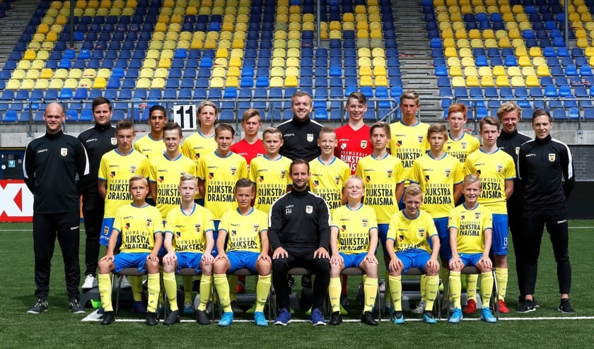 SC Cambuur jeugd onder 15 , seizoen 2019 - 2020