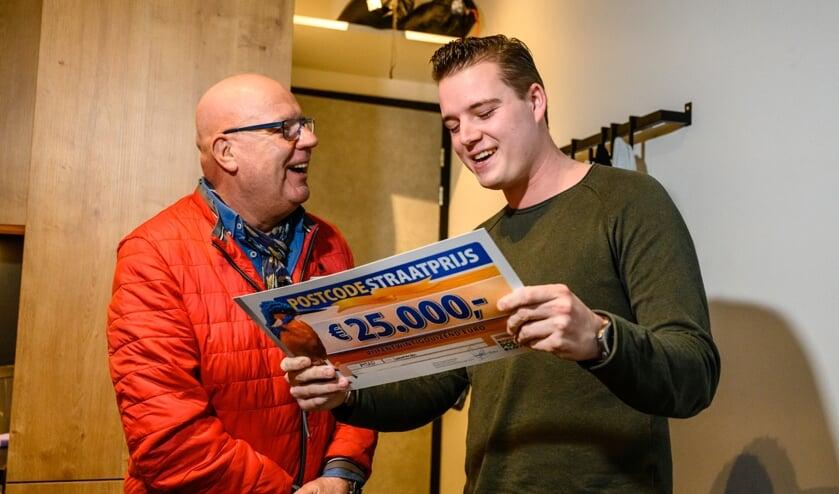 Daniel uit Leeuwarden wint PostcodeStraatprijs van 25.000 euro