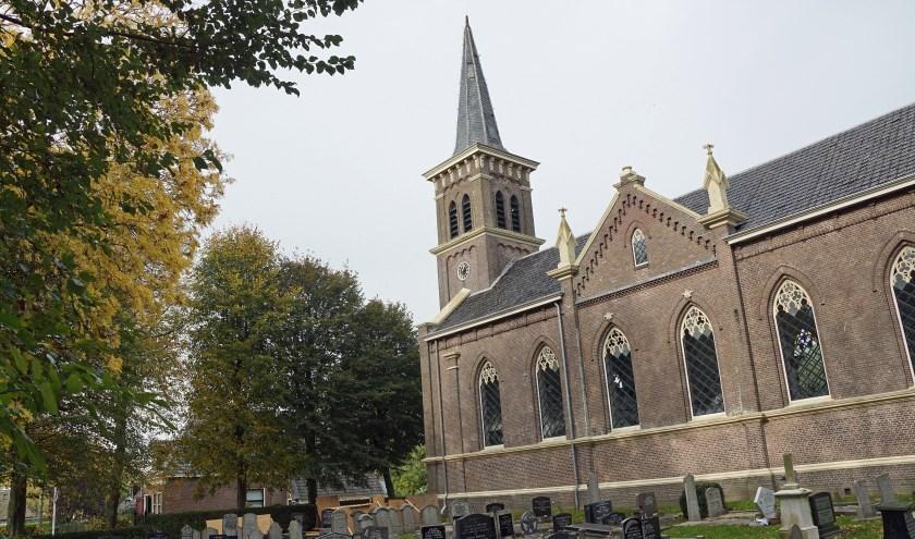 De Nicolaaskerk in Koarnjum