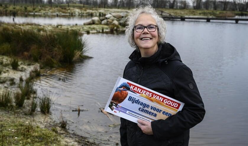 Een grote wens van Betty Kooistra uit Burgum gaat in vervulling dankzij een nominatie van IVN Natuureducatie bij de Postcode Loterij