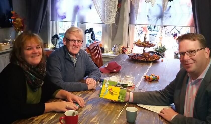 Wethouder Bruggeman bracht familie Noordzij het bedankje