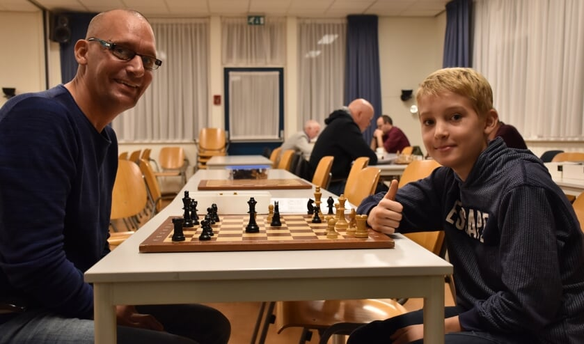 Alex Greiner met zoon Sebastian Greiner
