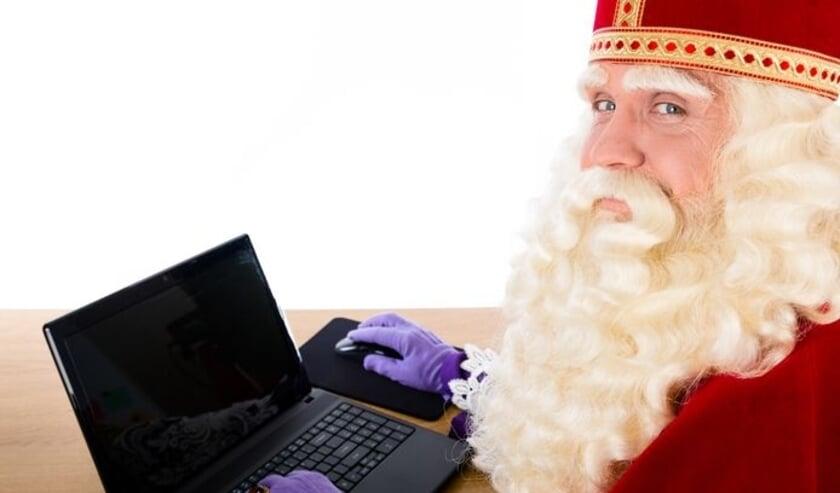 <p>Skypen kan dit jaar ook met de Sint.&nbsp;</p>