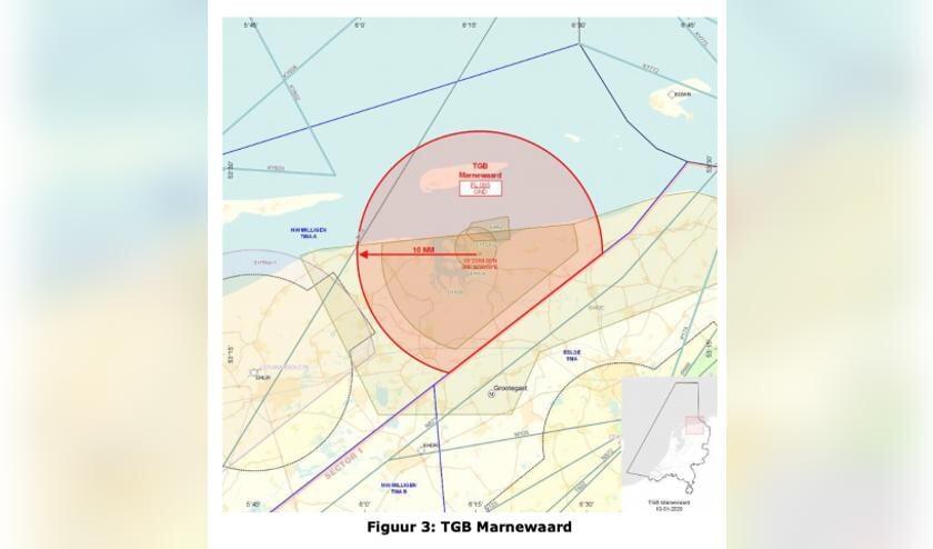 <p>Het oefengebied Marnewaard, deels op land, deels in de Waddenzee en deels op Schiermonnikoog, is &eacute;&eacute;n van de drie oefengebieden van de oefening &#39;Werewolf Resilience&#39;.</p>