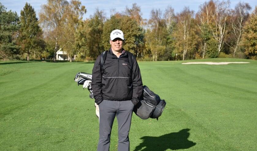 Baanmanager Andor de Geer op golfbaan Heidemeer