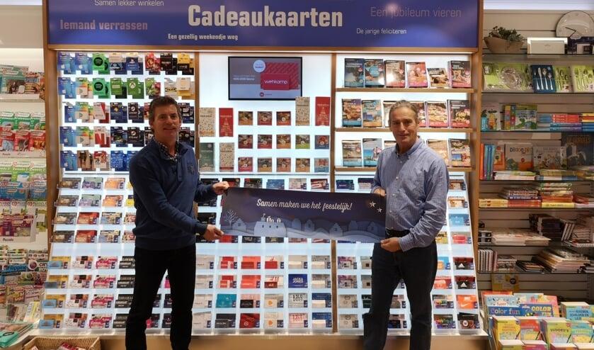 Theo & Alex Copini voor de cadeauwand van de Primera Bilgaard