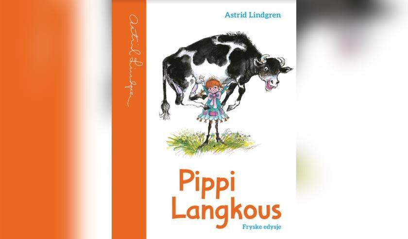 <p>De cover van het eerste Friestalige Pippi Langkous-boek</p>
