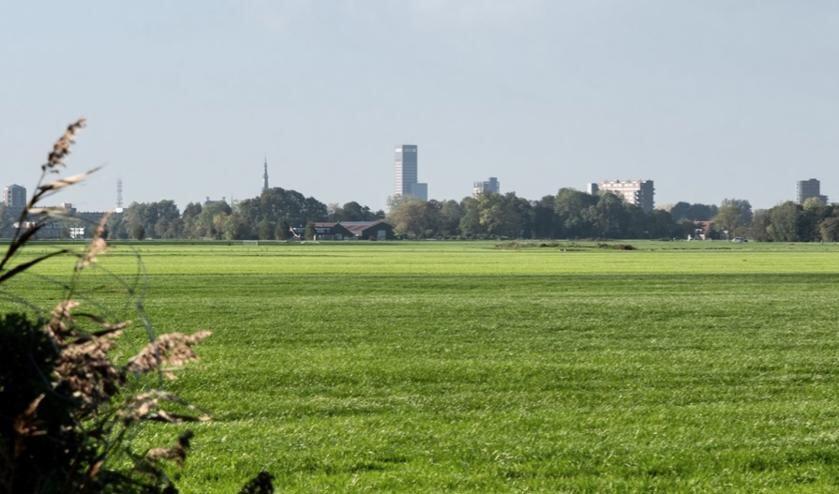 <p>Een deel van de skyline van Leeuwarden.</p>