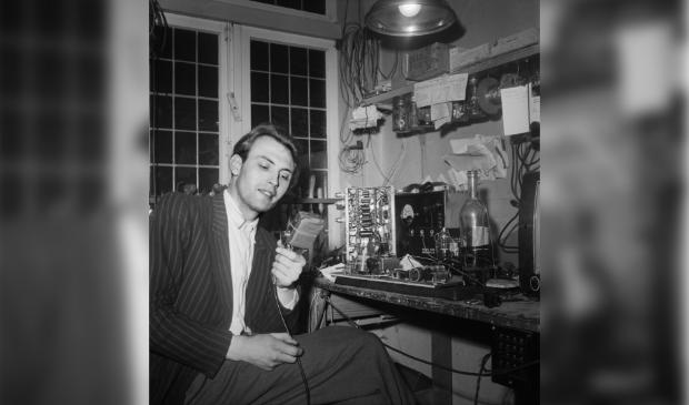 radiozender in het rampgebied, Zierikzee (1953)