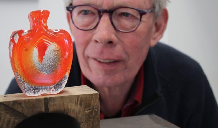 Glaskunstenaar Jan Hooghiemstra