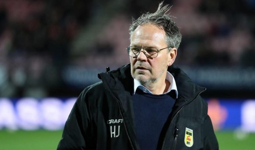 """Henk de Jong: """"er telt maar één doel..."""""""