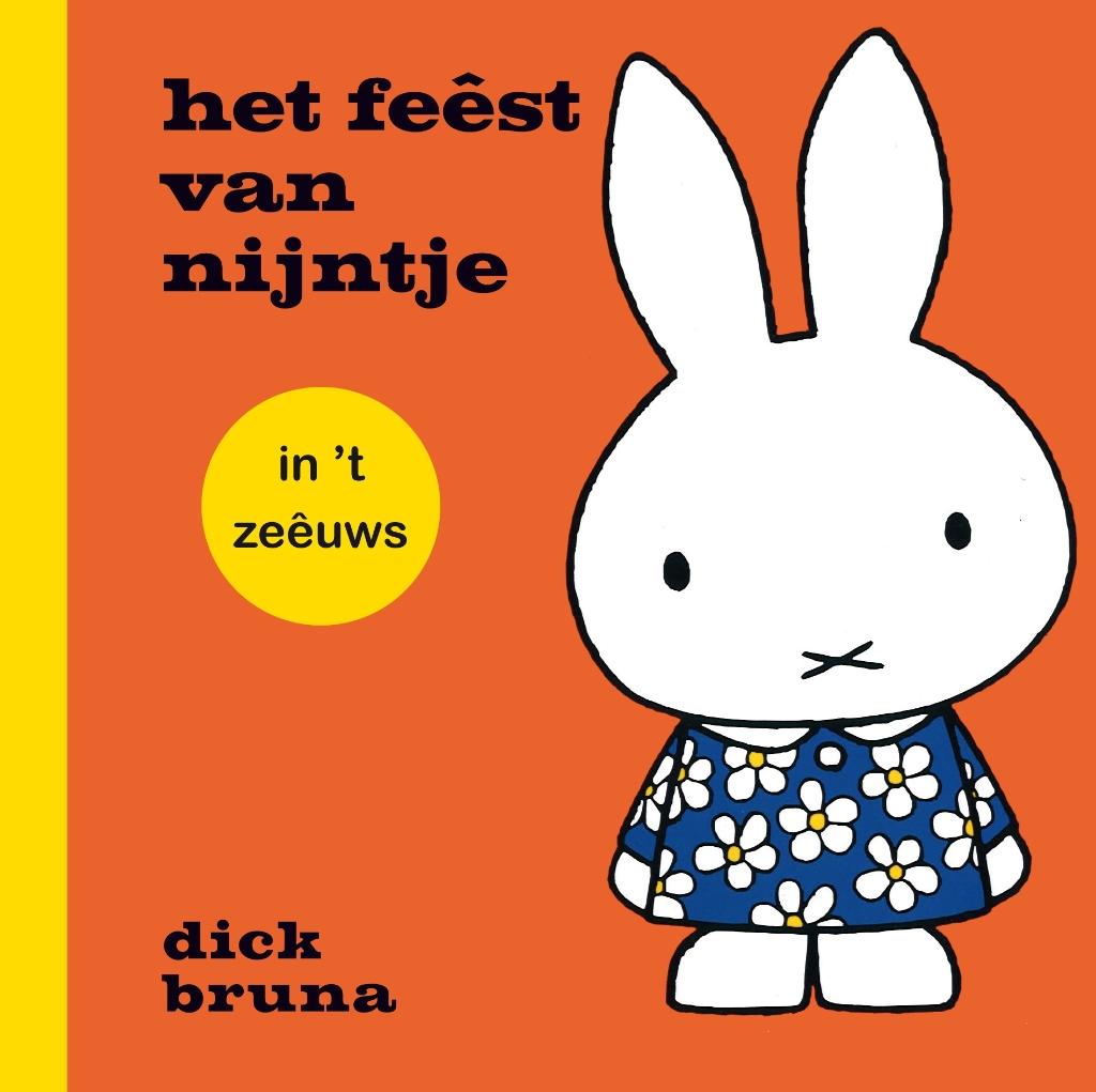 Boek Nijntje viert feest Foto: omslag boek Nijntje © Rondom Goeree Overflakkee