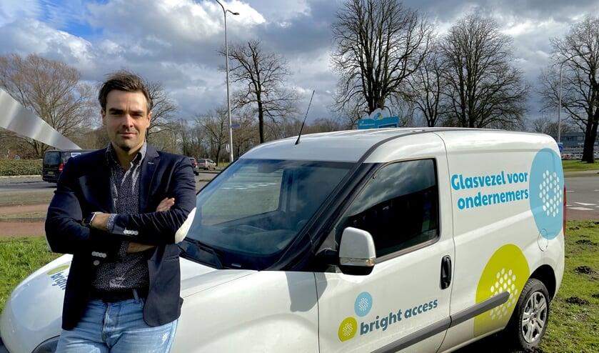 Frits Thomassen timmert aan de weg om heel Friesland aan te sluiten op glasvezel.