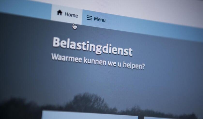 Screenshot Belastingdienst