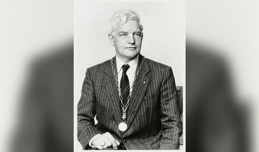 Bernhard van Haersma Buma als burgemeester van Workum.
