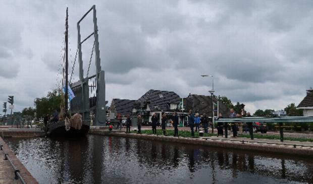 De Stokersverlaatbrug tijdens de officiële opening eerder dit jaar.