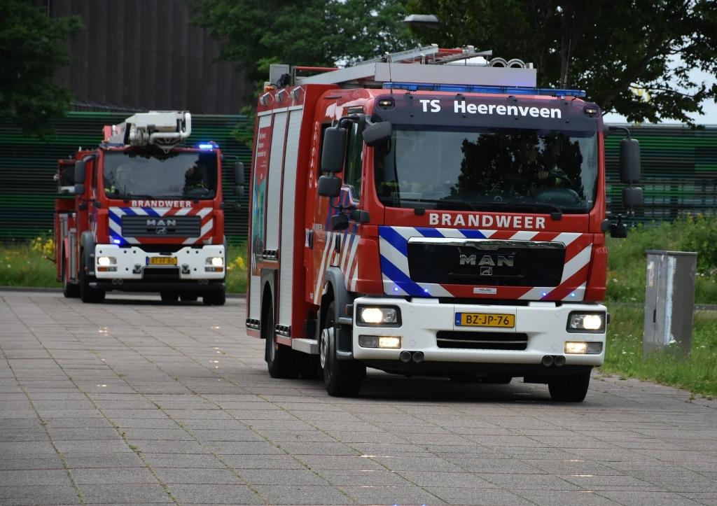 Foto: Brandweer Heerenveen © Rondom Heerenveen