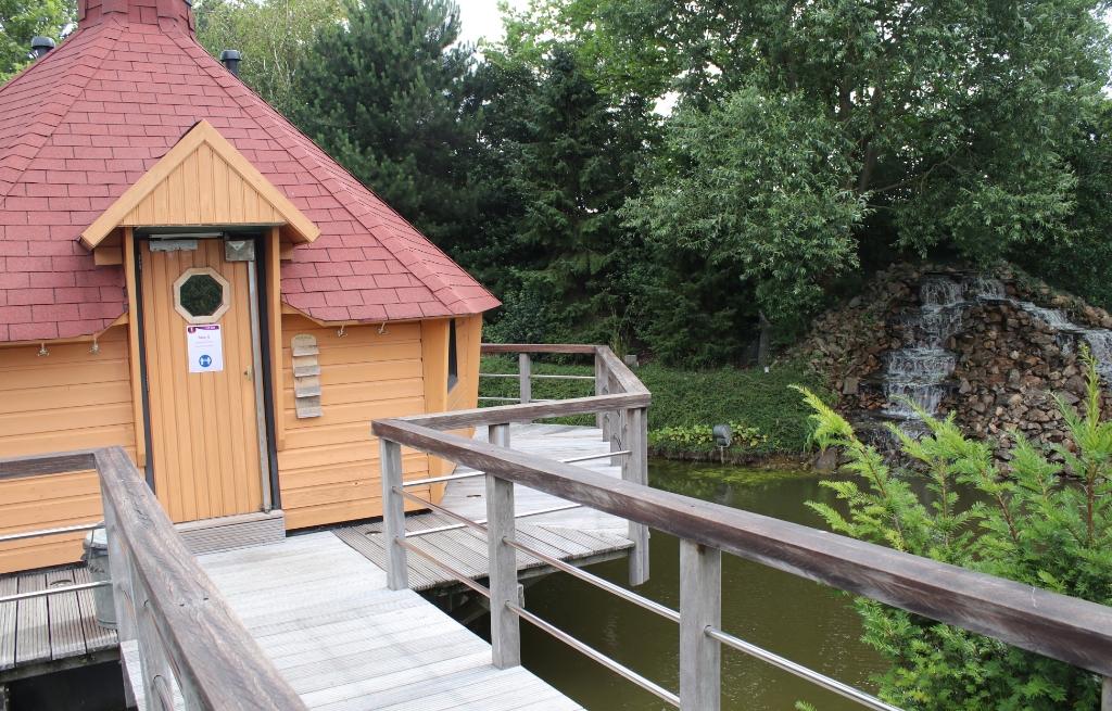 Sauna & Wellness de Woudfennen is er klaar voor Foto: Johan Vogelzang © Rondom Heerenveen
