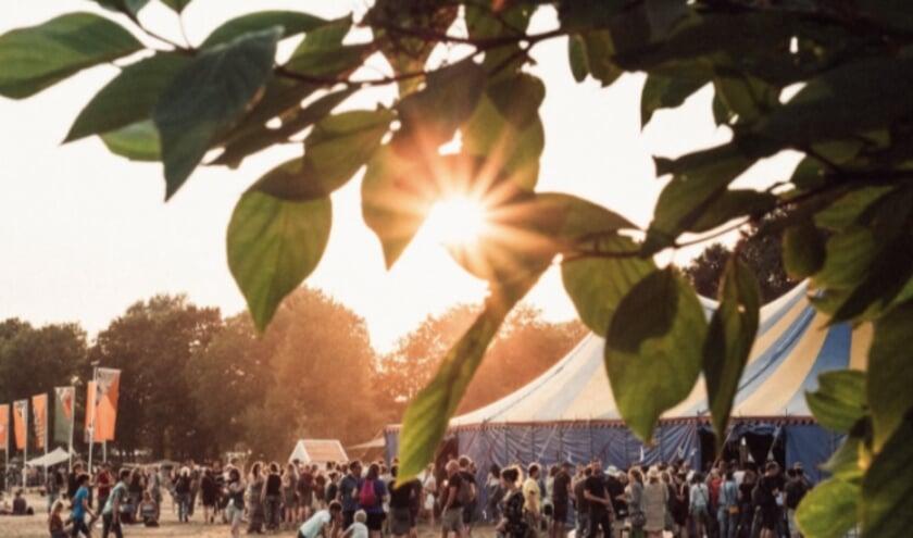 Bij het festival Welcome to the Village in Leeuwarden werd vorig jaar de appelsap van Fryske Frucht geschonken.
