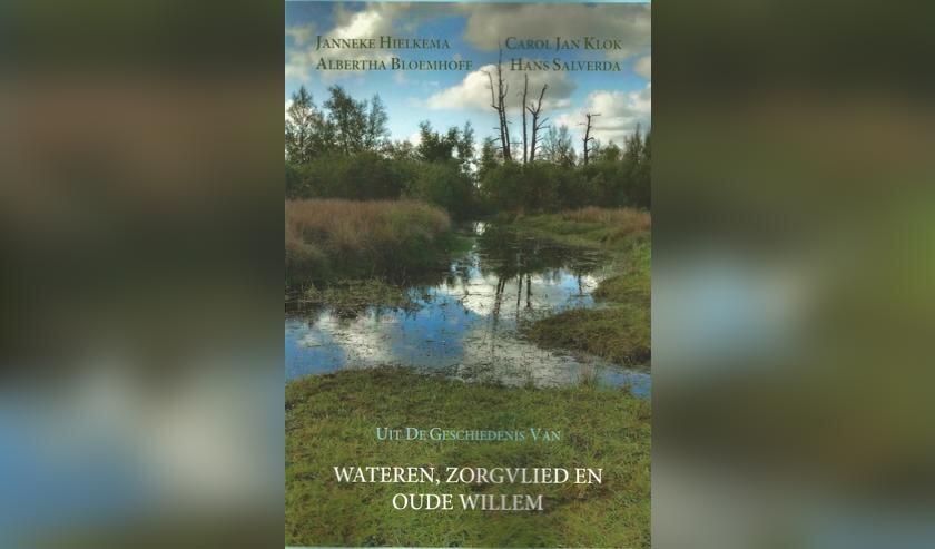 De voorkant van het boek over Zorgvlied, Wateren en Oude Willem.