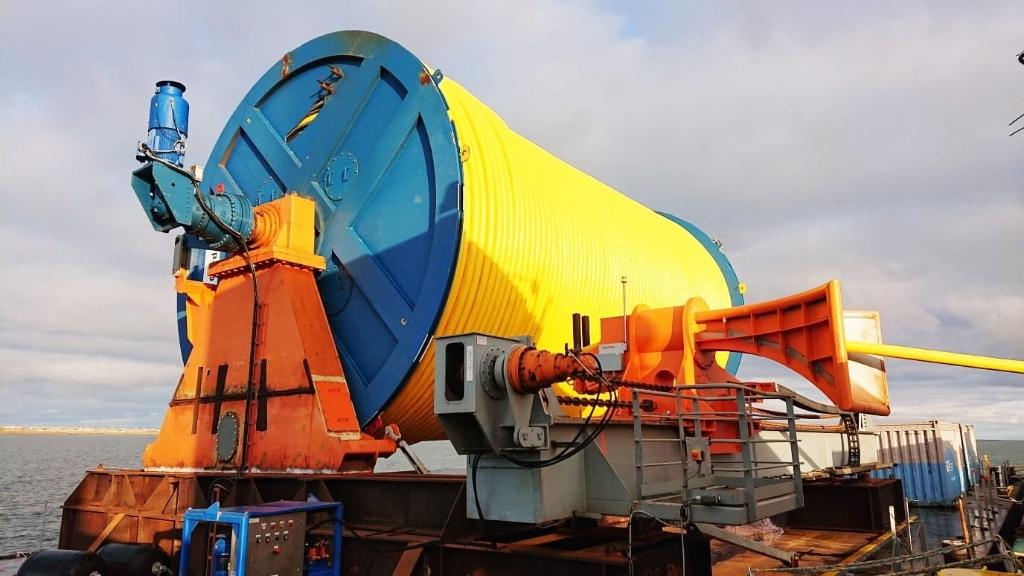 Werkzaamheden aan Windpark Fryslân <p>Foto: Windpark Frysl&acirc;n&nbsp;</p> © Rondom De Stellingwerven