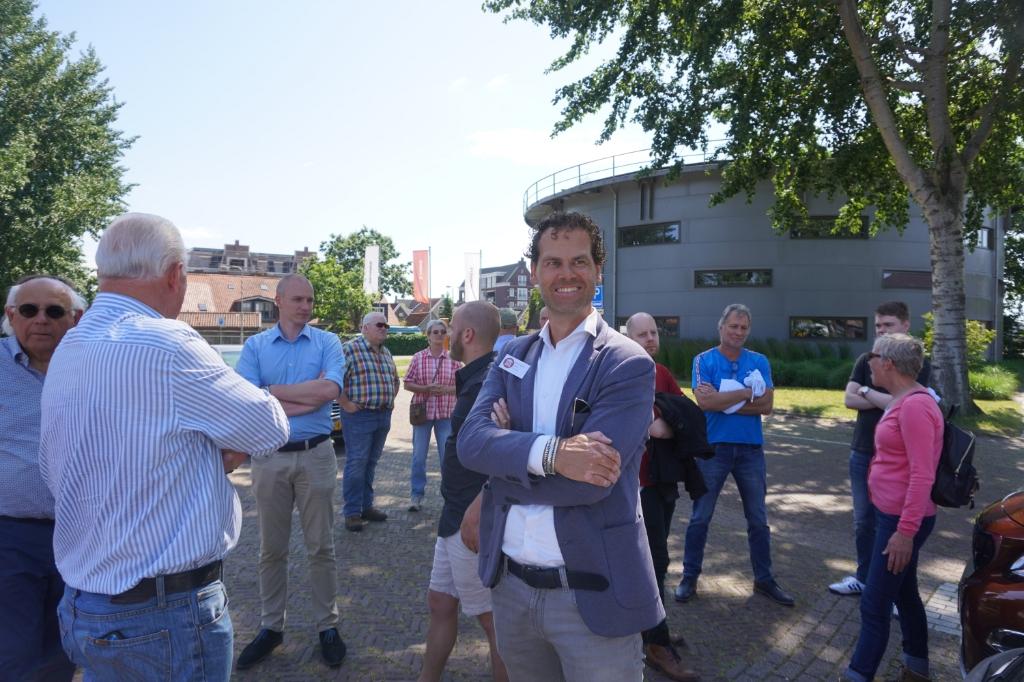 <p>Erwin Jousma voelt zich thuis bij Forum voor Democratie</p> Foto:  © Rondom Drachten