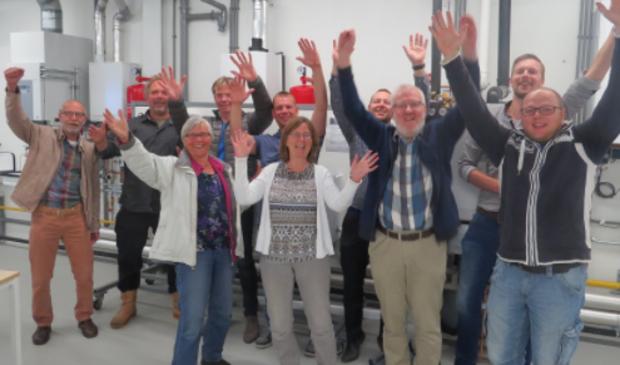 Leeuwarder energiecoaches in 2017.