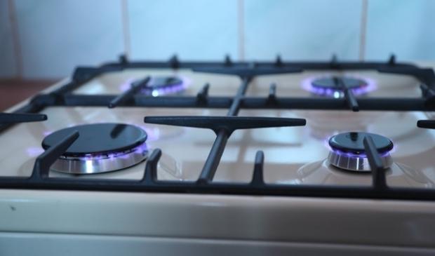 Foto van een gasfornuis, ter illustratie bij het artikel over gaswinning in Tytsjerksteradiel.