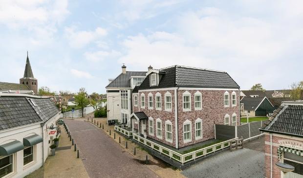 <p>De Noorse woning in het centrum van Warten.</p>