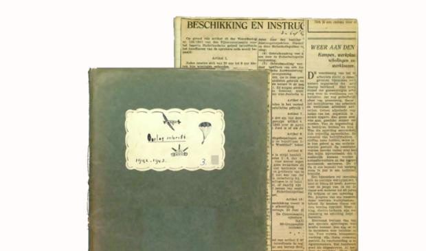 Voorkant van To Hofstra schrift van het oorlogsjaar 1943.