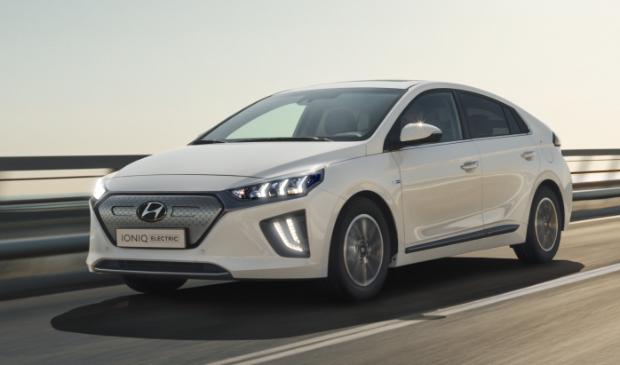 <p>De Hyundai IONIQ Electric</p>