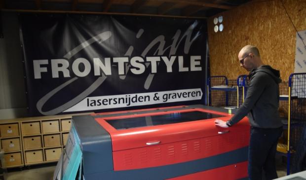 Frontstyle Heerenveen is specialist op het gebied van lasertechniek.