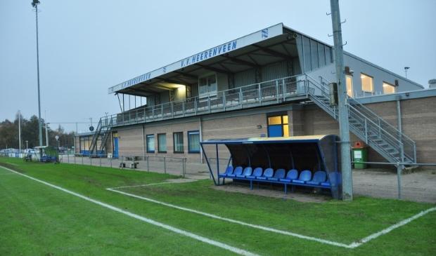 <p>Het complex van de voetballers van VV Heerenveen.</p>