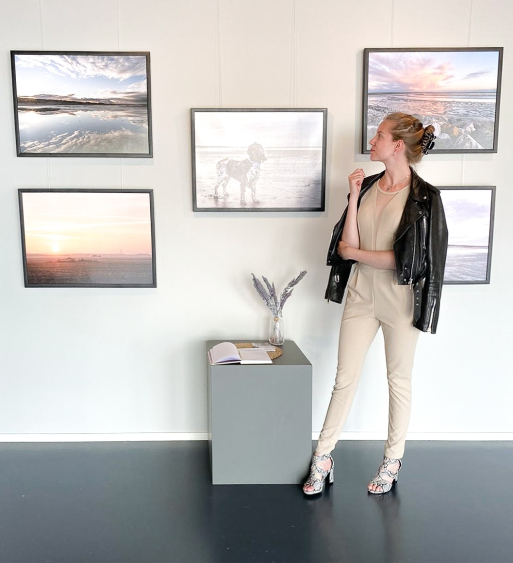 Eén van de werken van de expositie 'Geöntpopt'. Foto: ROC Friese Poort © Rondom Drachten